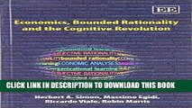 New Book Economics, Bounded Rationality and the Cognitive Revolution