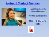 Restoring back all the important data dial 1-877-776-6261 Hotmail Contact Number