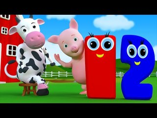 One Two Buckle My Shoe | Learn Numbers | Nursery Rhymes And Children Song By Farmees