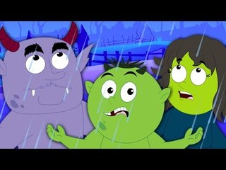 Rain Rain Go Away   Scary Nursery Rhymes From Haunted house