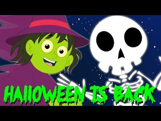 helloween is back | scary rhymes | kids songs | nursery rhymes | halloween song