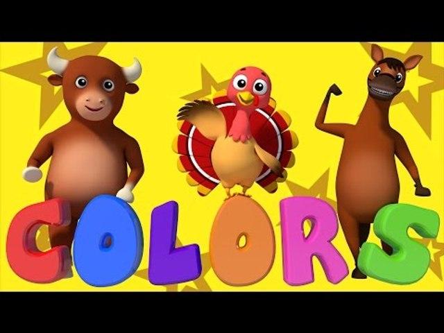 Learn Colors | Colors Song | Nursery Rhymes | Farmees | Baby Songs