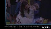 Kate Middleton et le prince William dévoilent une adorable vidéo de George et Charlotte (Vidéo)