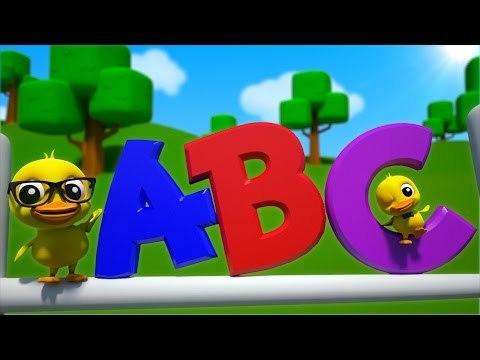 abc alphabet song   3d rhyme   english nursery rhymes