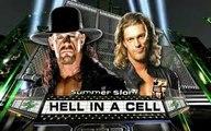 WWE Undertaker Vs Edge Hell In A Cell Match Summerslam 2008