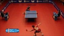 Echanges de fou lors d'un match de ping pong !