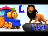 bob la canción tren ABC | el aprendizaje con Bob el tren | la enseñanza con Bob el tren