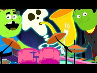 Monsters Party Song | Original Nursery Rhymes From Haunted House | Songs For Kids And Baby