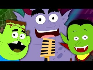 Monster Mashup Song | Dancing Song For Children | Scary Nursery Rhymes