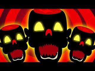 dawn of the dead | scary rhymes | nursery rhymes | monsters song | kids videos