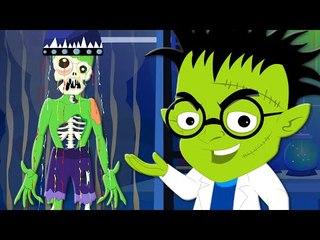 Make A Monster | Original Nursery Rhymes | Kids Songs | Scary Rhymes
