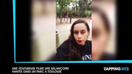 Une Youtubeuse filme une balançoire hantée dans un parc à Toulouse (vidéo)