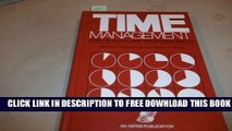 Collection Book Time Management for Health Care Professionals