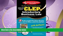 read here  CLEP® Introductory Business Law with CD (CLEP Test Preparation)