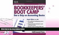 FAVORITE BOOK  Bookkeepers  Boot Camp: Get a Grip on Accounting Basics (101 for Small Business)