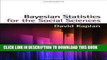 [PDF] Bayesian Statistics for the Social Sciences (Methodology in the Social Sciences) Popular
