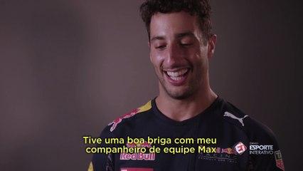 Daniel Ricciardo fala sobre a sua vitória no GP da Malásia