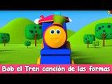 Bob el tren en rimas español | Bob el Tren canción de las formas | Bob el tren compilación español