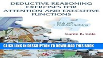 [PDF] Deductive Reasoning Exercises for Attention and Executive Functions: Real-Life Problem