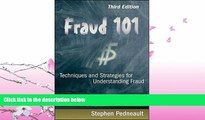 FAVORITE BOOK  Fraud 101: Techniques and Strategies for Understanding Fraud
