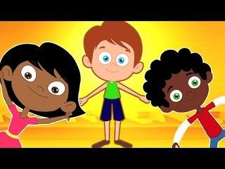 Hokey Pokey Canción | Canciones Infantiles | Música para Niños | Hokey Pokey Song for Kids
