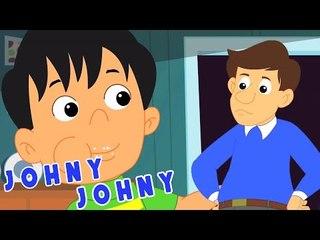 Johny Johny rima para niños | rimas canciones para niños | canciones infantiles en español