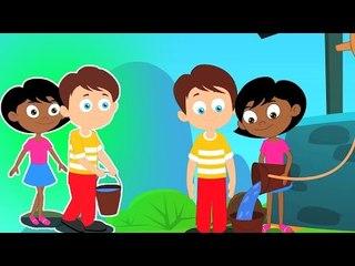 Jack y Jill niños canción | canciones infantiles para niños | poemas en español
