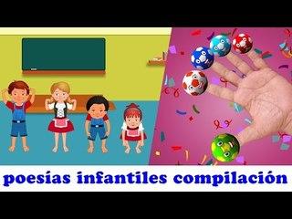 Cabeza Hombros Rodillas y Pies | Canción infantil compilación | música niños en español