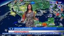 Susana Almeida Pronostico del Tiempo 3 de Octubre de 2016