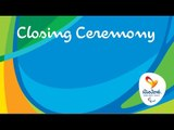 Rio 2016 Paralympic Games | Closing Ceremony
