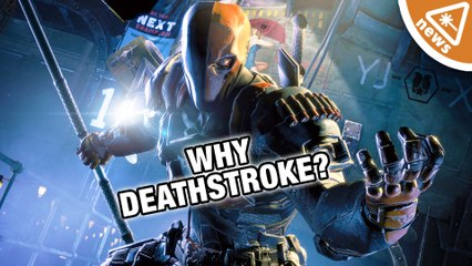 Why Deathstroke Is The Batman Villain! (Nerdist News w/ Jessica Chobot)