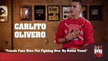 Carlito Olivero - Female Fans Were Fist Fighting Over My Sweat Towel (247HH Wild Tour Stories) (247HH Wild Tour Stories)
