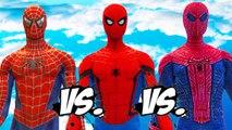 THE AMAZING SPIDER-MAN VS SPIDERMAN (CIVIL WAR) VS SPIDER-MAN (2002)