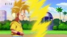 Kid Trunks Attacks Future Trunks! - Dragon Ball Super Episode 59 -English Sub