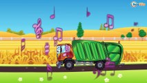 Cartoon for kids - Garbage Truck with Truck. Trucks Cartoons for children 47 Episode