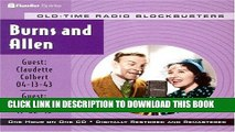 [PDF] Radio Shows: Burns   Allen (Old-Time Radio Blockbusters 1-Hour Collections) Full Collection