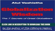 New Book Globalization Wisdom: The Seven Secrets of Great Globalizers