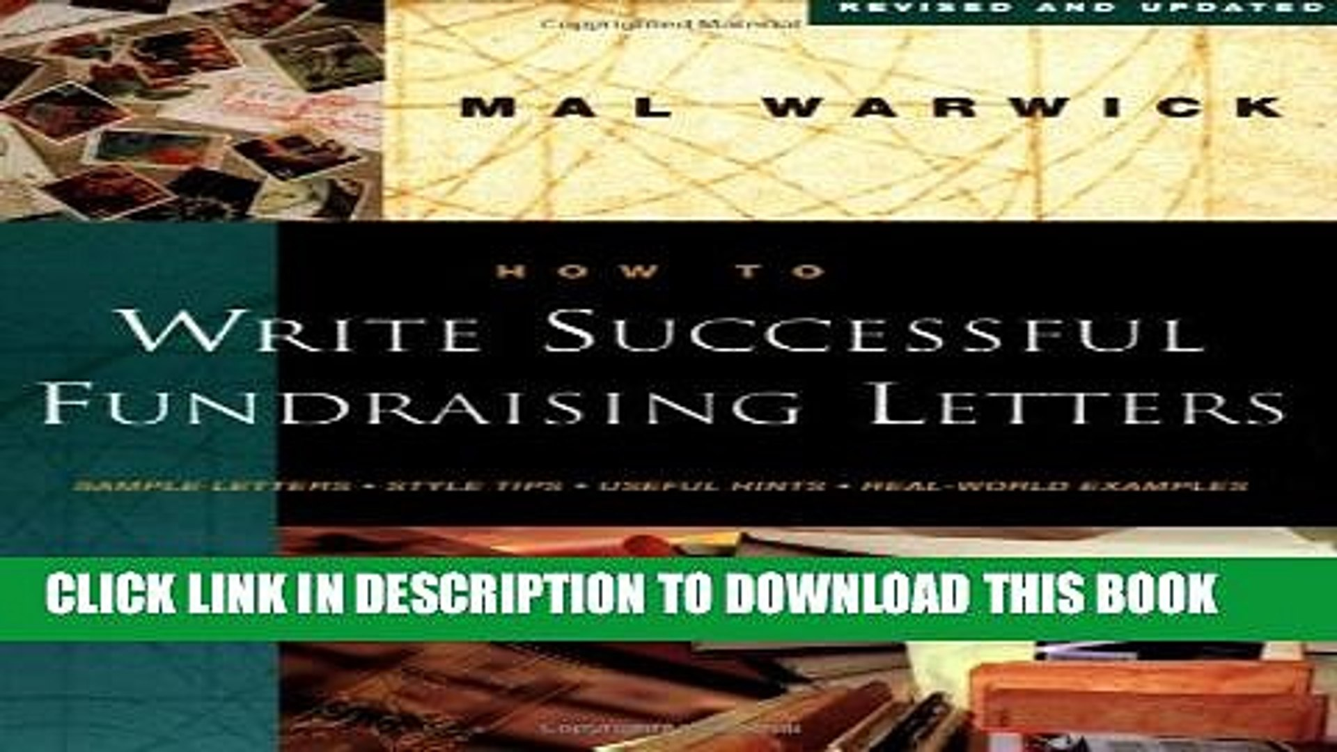 Collection Book How to Write Successful Fundraising Letters