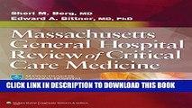 [PDF] Massachusetts General Hospital Review of Critical Care Medicine Popular Online