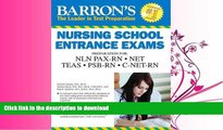 READ  Barron s Nursing School Entrance Exams, 5th Edition: HESI A2  /  NET / NLN PAX-RN / PSB-RN
