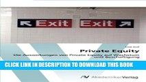 Collection Book Private Equity: Die Auswirkungen von Private Equity auf Wachstum und