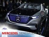 Mercedes Generation EQ Concept en direct du Mondial de Paris 2016