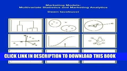 New Book Marketing Models: Multivariate Statistics and Marketing Analytics