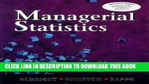 New Book Managerial Statistics