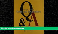 FAVORITE BOOK  Questions and Answers: Criminal Procedure (Questions   Answers)