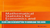 [PDF] Mathematical Statistics for Economics and Business Popular Colection