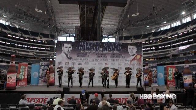 HBO Boxing News - Canelo vs. Smith Weigh-In Recap (HBO Boxing)-katWUjXCTus