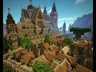Minecraft Ce Joueur A Passé 4 Ans Et Demi à Construire