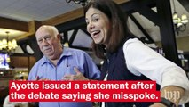 Kelly Ayotte backpedals on saying Trump is 'absolutely' a role model