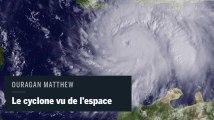 L'ouragan Matthew filmé depuis l'espace à bord de la Station spatiale internationale